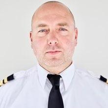 Pilot Richard Haglund